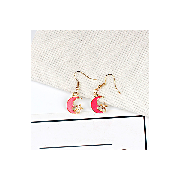 Red universal earring series G style