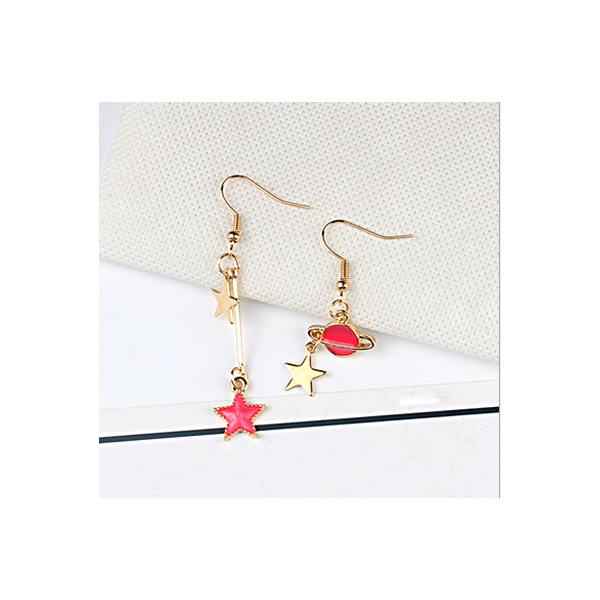 Red universal earring series