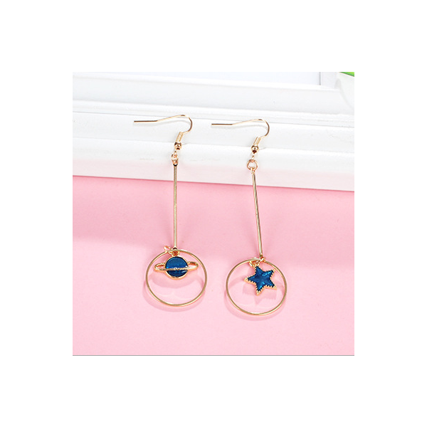 Earring blue earth series good quality and fashion