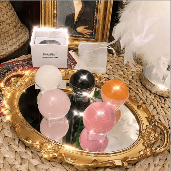 Face Washing ball , colorful crystal ball, mild cleansing