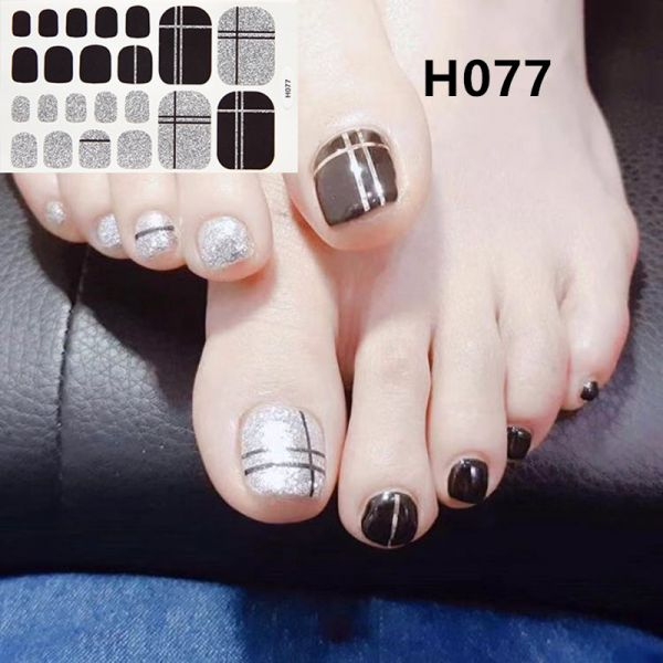 H077 The Grand Budapest Hotel foot nail stickers nail tools foot beauty