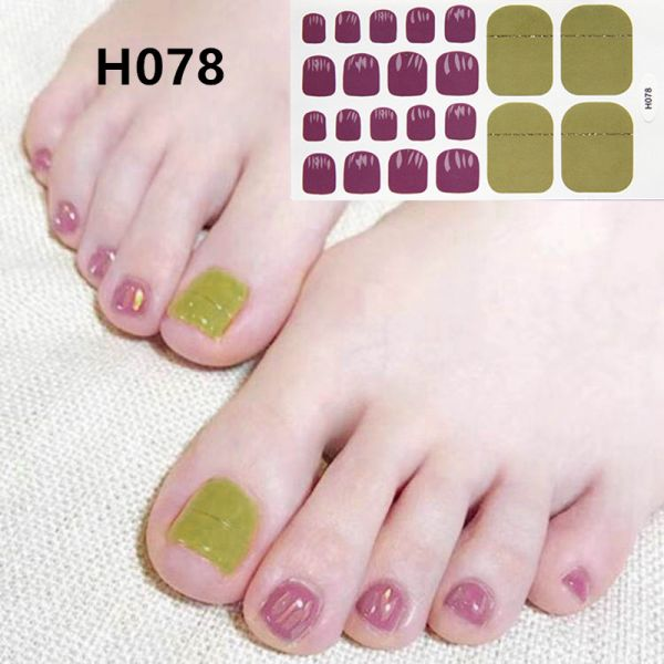 H078 Pink blade foot nail stickers nail tools foot beauty