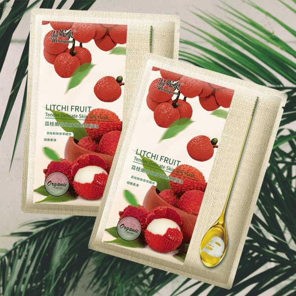 Litchi Fruit skin mask
