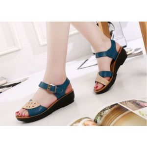 New soft bottom empty heel anti-slip lady's sandal