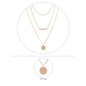 Coin multi-layer necklace