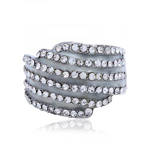 Wish multi-layer diamond ring