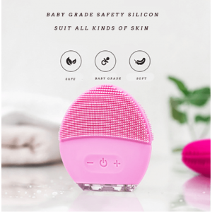 Silicon Electric Face Cleaning Waterproof Mini Sonic Face Cleaner