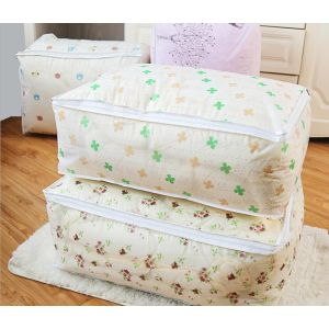 Move quilts to store moisture-proof packing bags