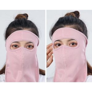 Large mask for outdoor sun protection
