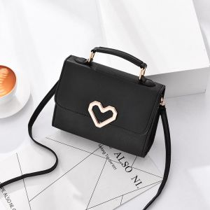 love clasp single shoulder bag