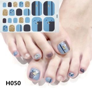 H050 Urban architecture foot nail stickers nail tools foot beauty