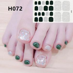 H072 Check the scales foot nail stickers nail tools foot beauty