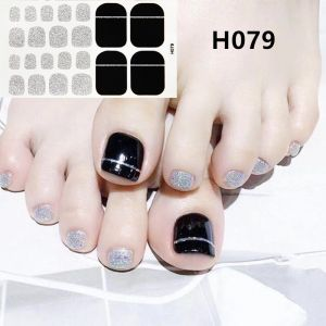 H079 Night entertainment venue foot nail stickers nail tools foot beauty