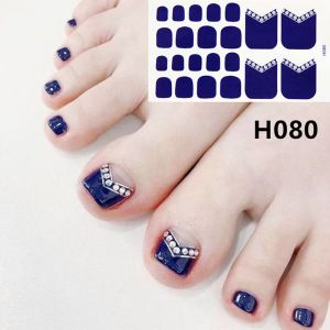 H080 The story of Mongolia foot nail stickers nail tools foot beauty