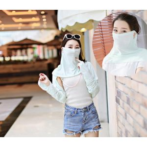 Anti-UV resistant ice mask