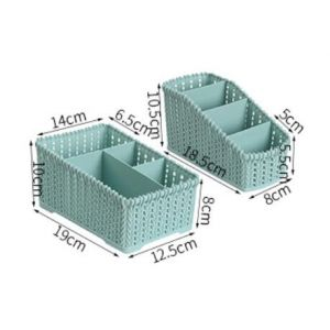 Large plastic rattan packing box