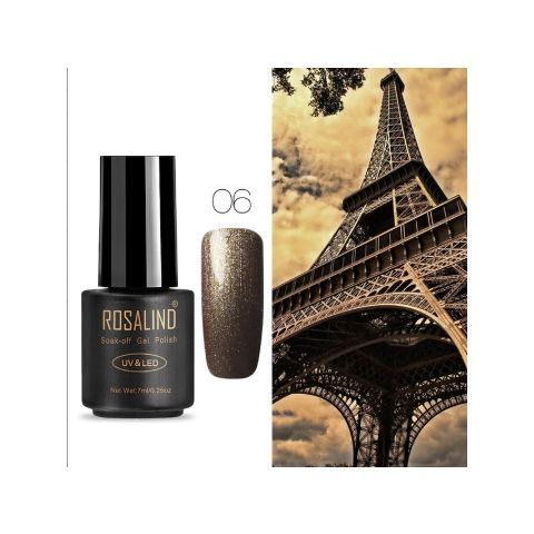 06 brown art gel extension nail polish