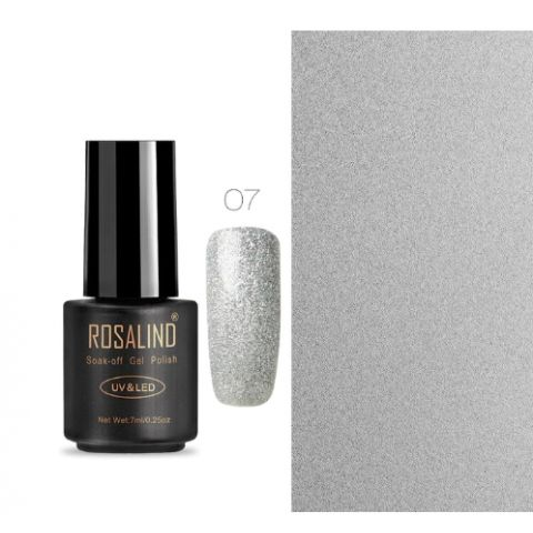 07 gray art gel extension nail polish