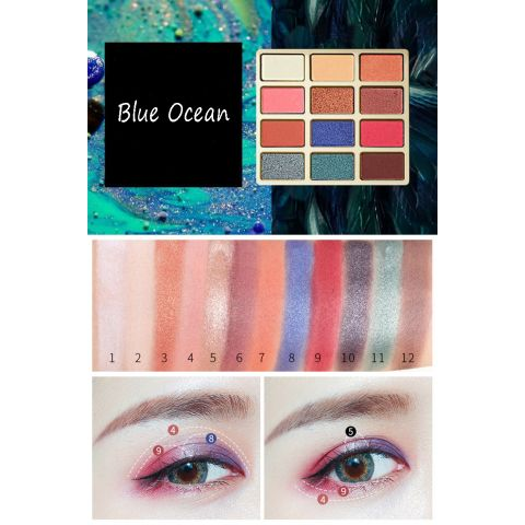 Blue Ocean eyeshadow