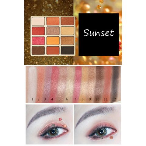 Sunset Eyeshadows