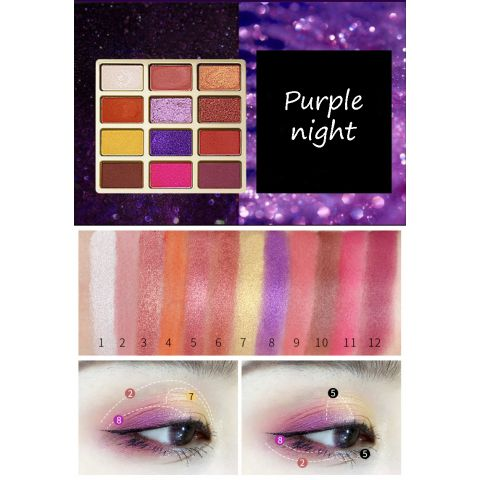 Purple Night Eyeshadows