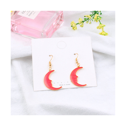 Red universal earring series C style