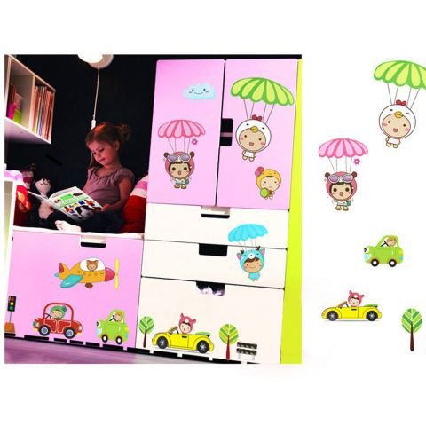 MAMAMYA Wall Stickers Growth Scale for Children Bedroom Home Decoration Under 150