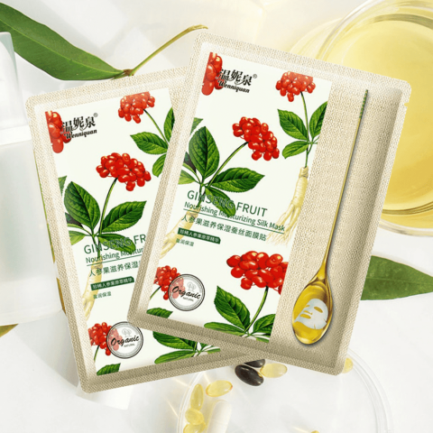 Ginseng Fruit Nourishing Silk Mask